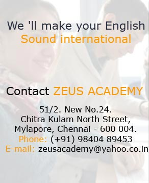 American Accent Training in Chennai | Best Accent Training